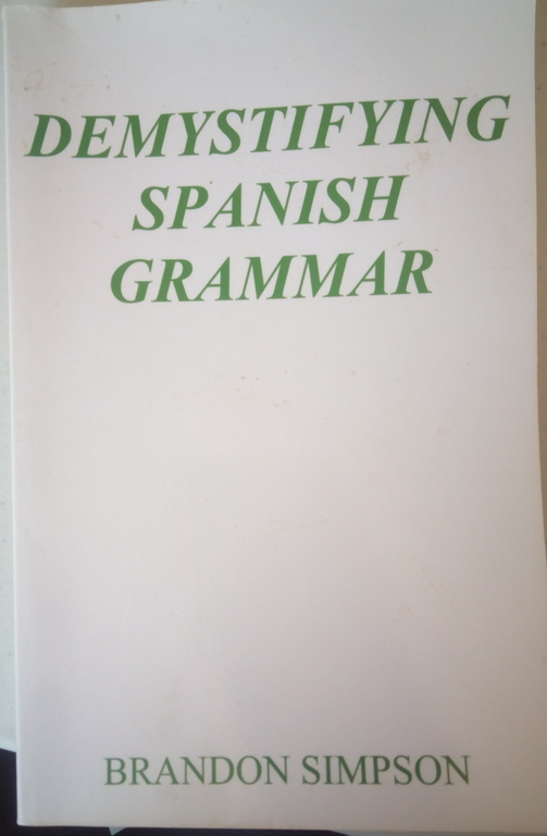 spanish grammar books